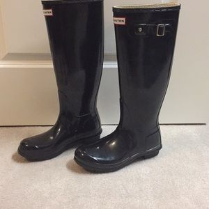 Hunter Original Tall Gloss Boots